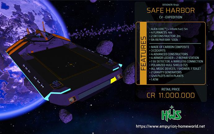 Garage CV E Safe Harbor
