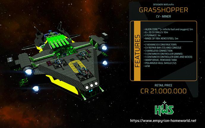 Garage CV M Grasshopper
