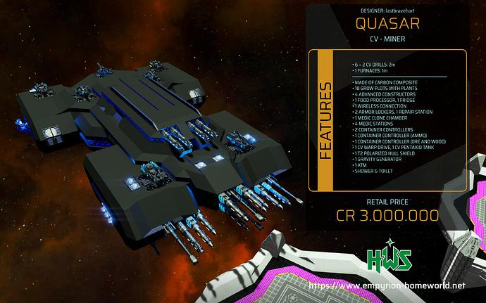 Garage CV M Quasar